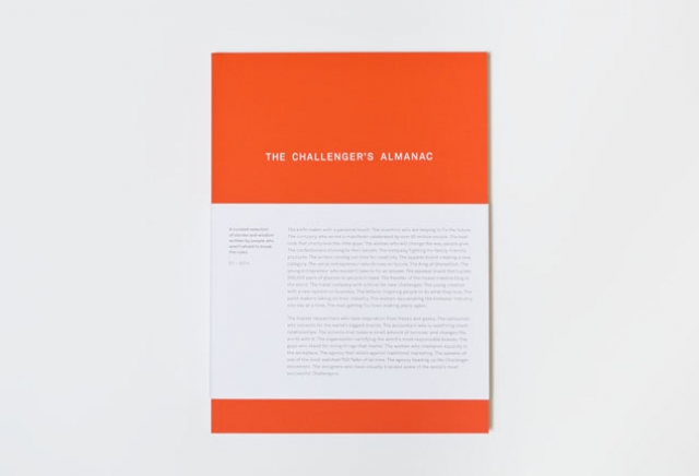 THE CHALLENGER'S ALMANAC